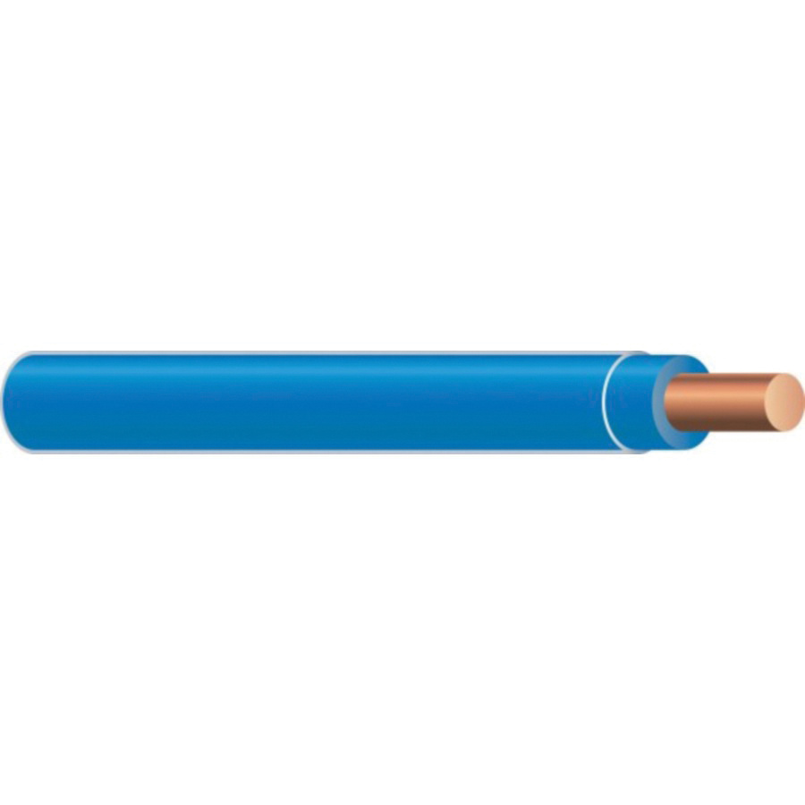 XHHW-4/0-CU-STR-BLUE Stranded Bare Copper XHHW Cable 4/0 AWG Blue ...