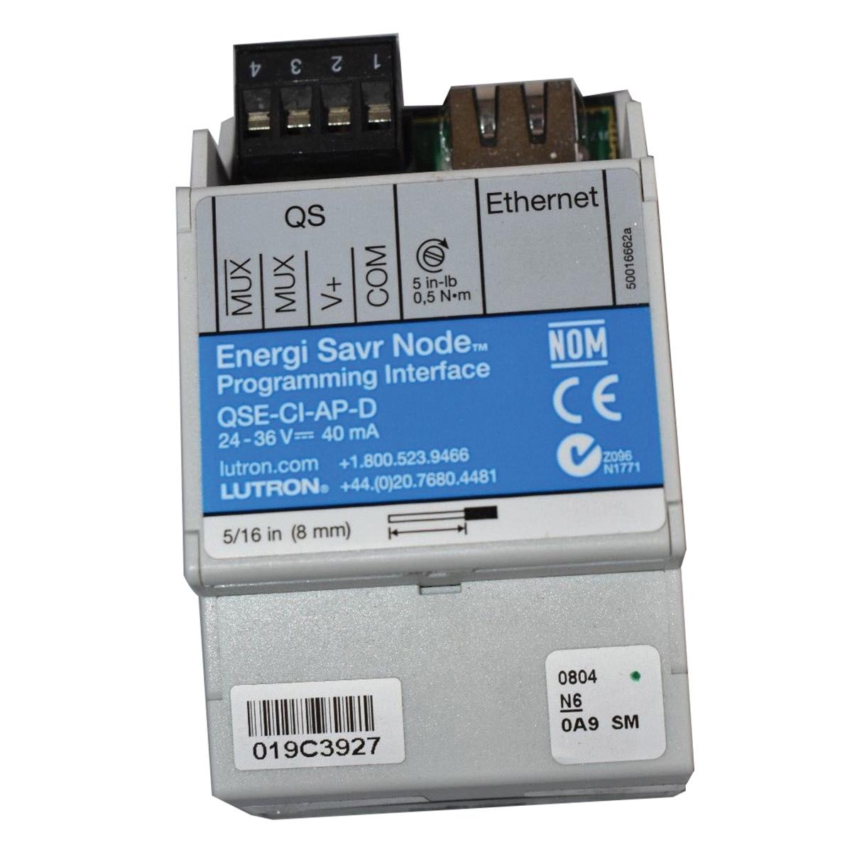 Lutron QSE-CI-AP-D Programming Interface 24 - 36 Volt Ethernet ...