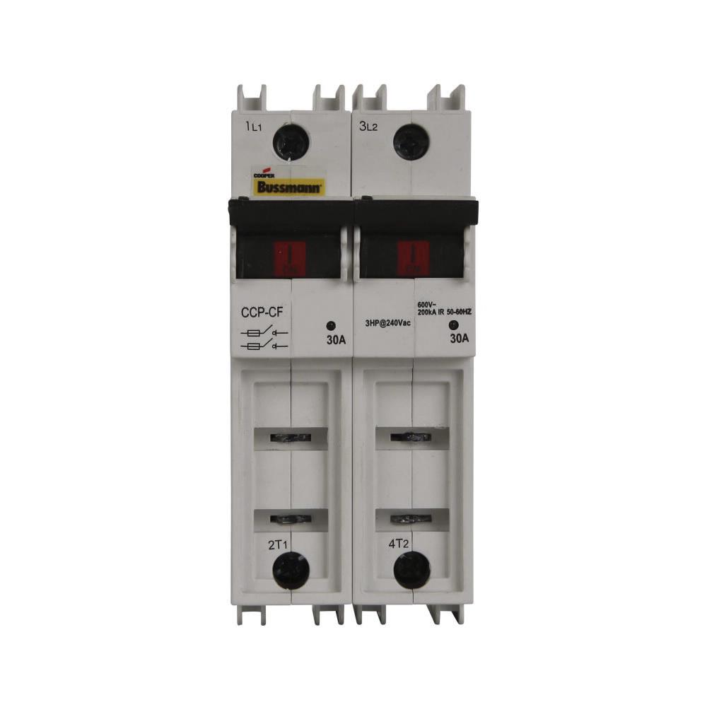 Bussmann CCP-2-30CF 2-Pole Fusible Disconnect Switch 600 Volt AC 125 ...