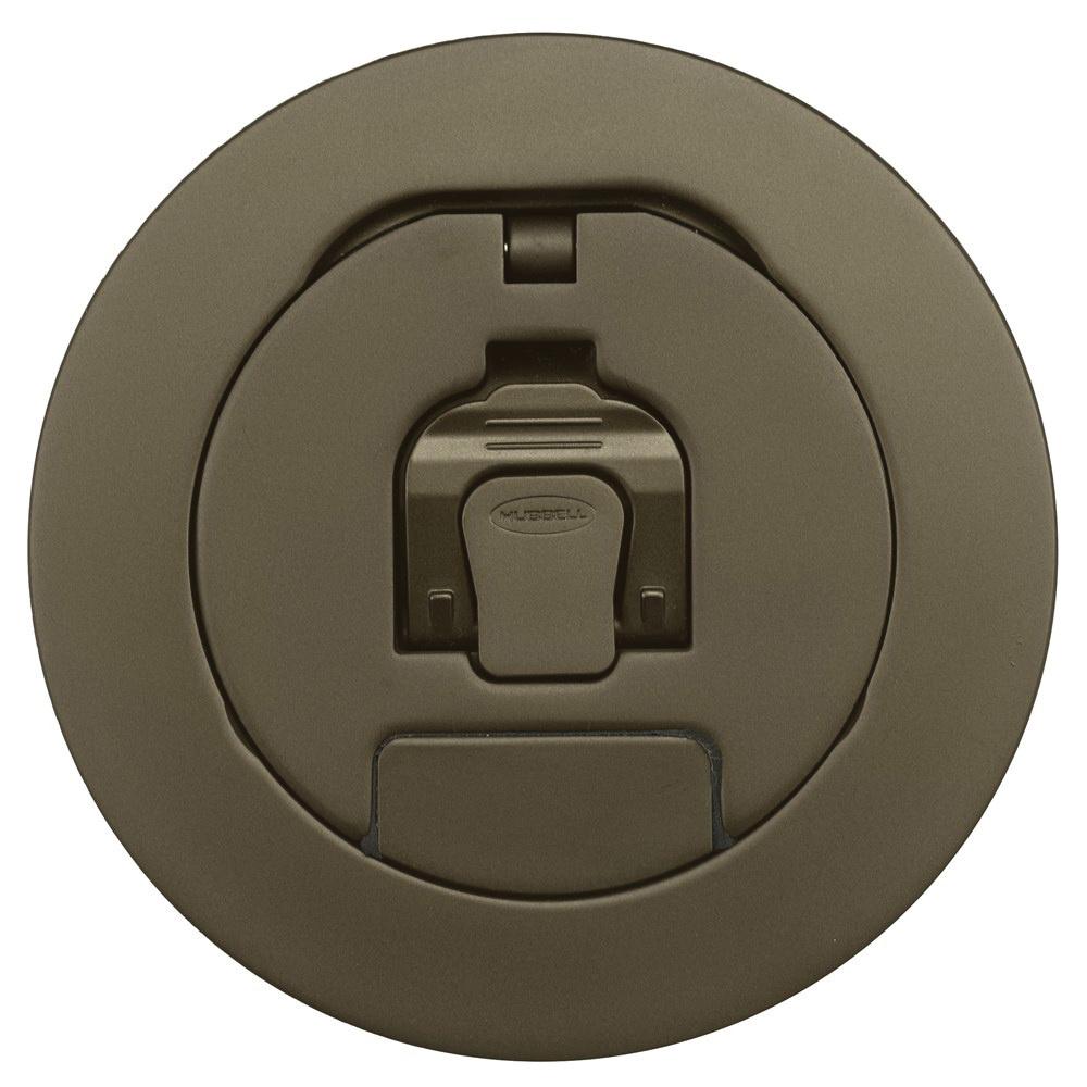 Hubbell Wiring Cfbs1r4cvrbrz Plated Antique Bronze