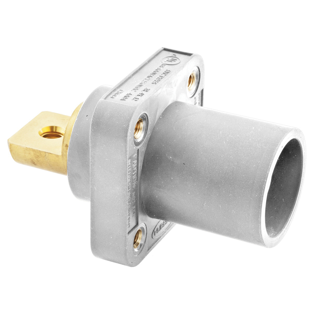 Hubbell Wiring Hblmrbw 16 Series Male Receptacle 600 Volt Ac 250 Dc 300