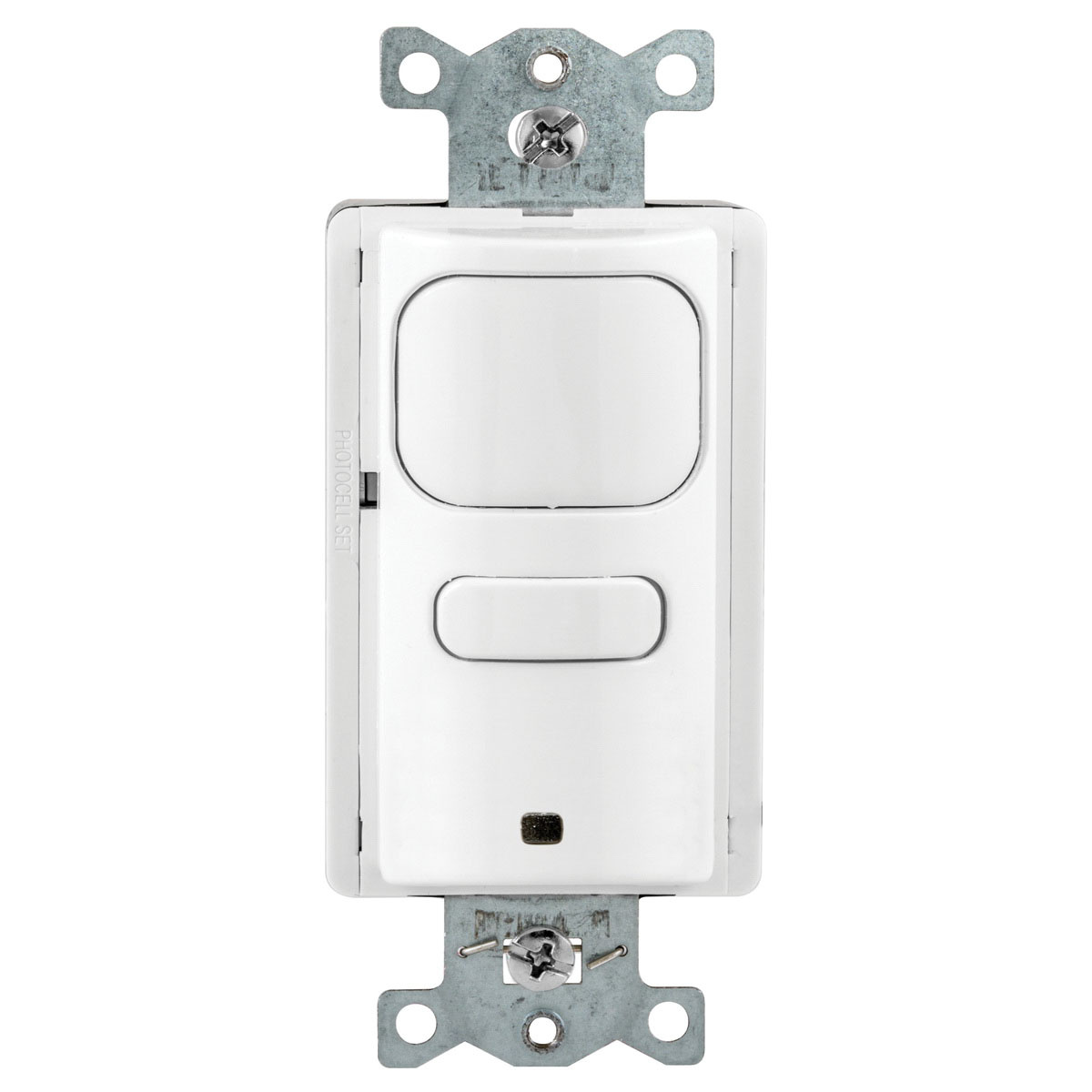 hubbell-wiring ap2000w1 adaptive technology manual/auto passive infrared  wall switch sensor 1000-sq-ft 120/277-volt ac white h-moss® -  occupancy/vacancy