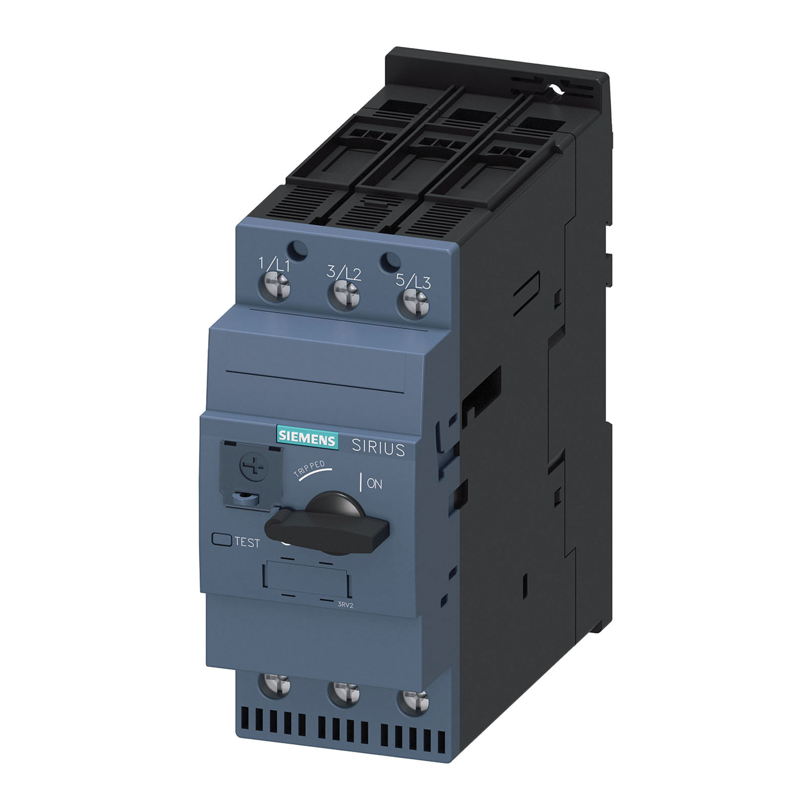 Siemens 3rv2031 4wa10 35 Mm Din Rail Mount Circuit Breaker