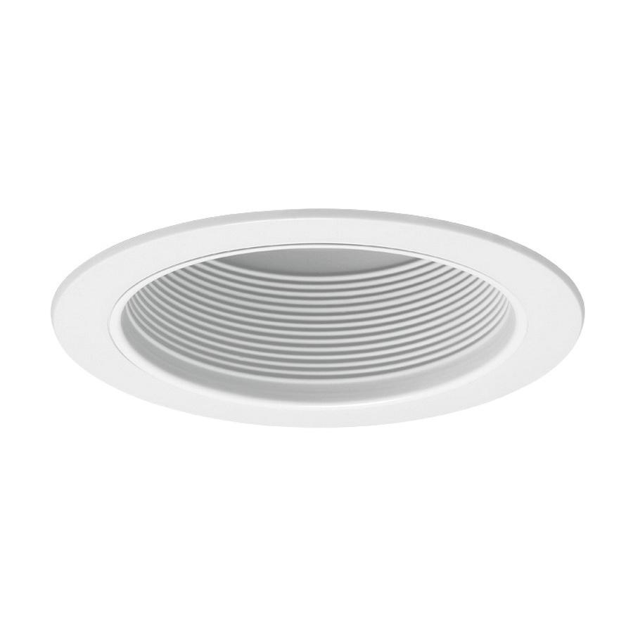 Juno Lighting V3025 Wwh 6 Inch Straight Baffle Trim White
