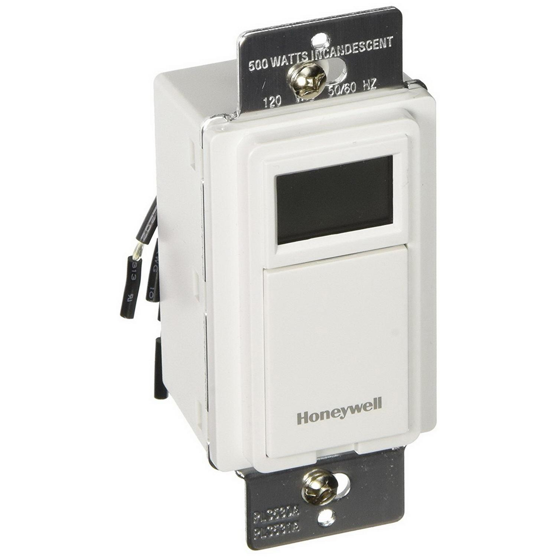 Honeywell PLS530A1008 3-Way Programmable Wall Switch 120 Volt AC 7 ...