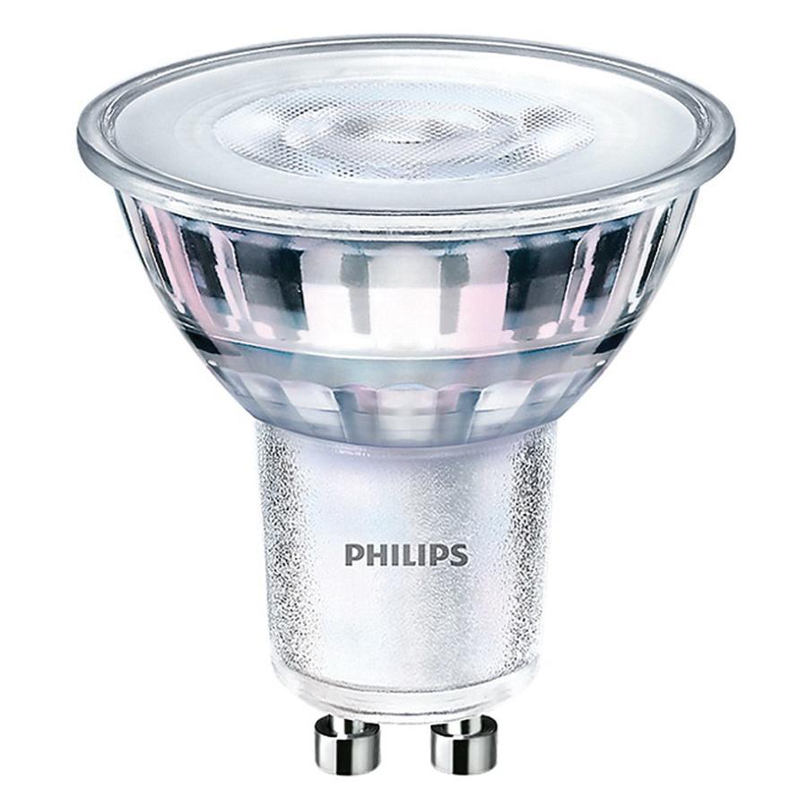 Philips Lighting 468140 Dimmable GU10 LED Lamp 4.5 Watt GU10 Base ...