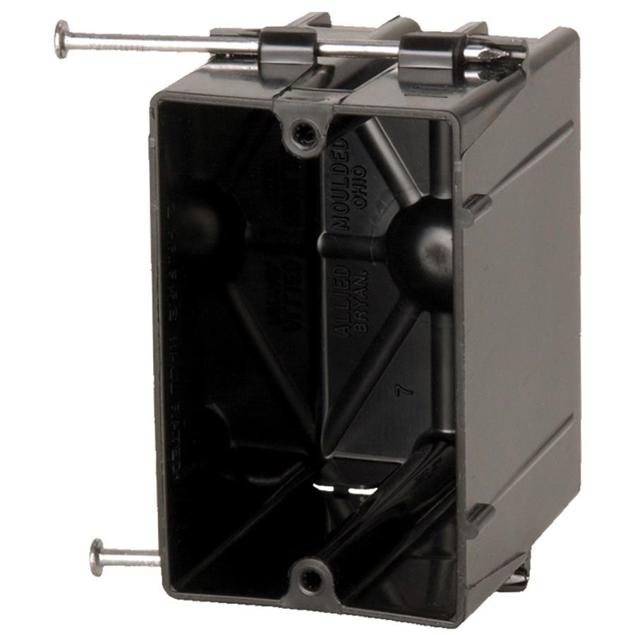 Allied Moulded Products P 201 Thermoplastic 1 Gang Residential Switch And Outlet In The Same Box Receptacle Electrical