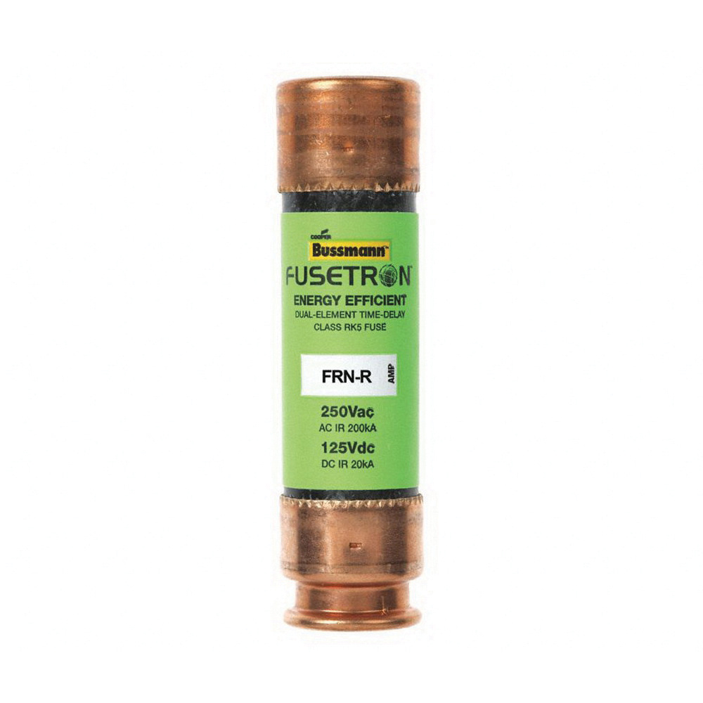 Bussmann FRN-R-30 30 Amp Fusetron Dual Element Time-Delay Current Limiting Fuse
