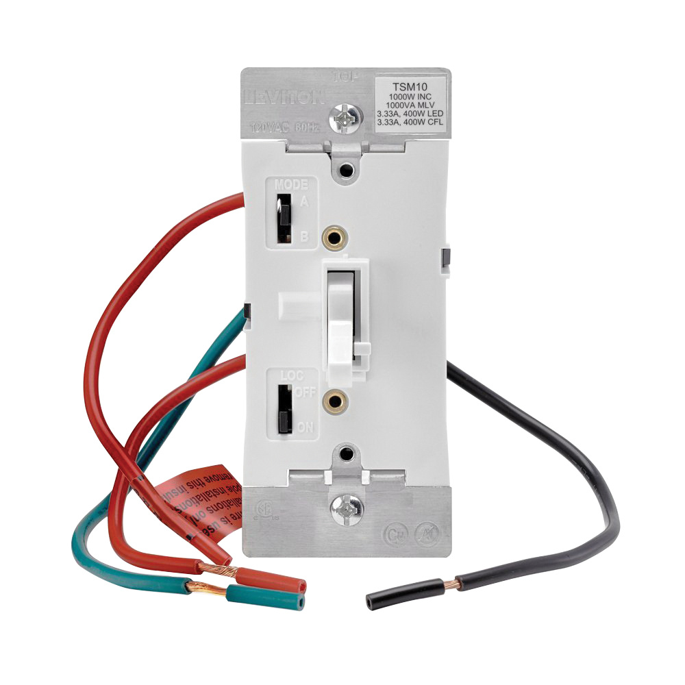 Leviton Wiring Devices Explained Diagrams Image For Circuit Breaker Finder With Gfci From Graybarstore Tsm10 1lw 1 Pole 120 Volt Ac 3 Way Electro Mechanical Electrical Conductivity Device