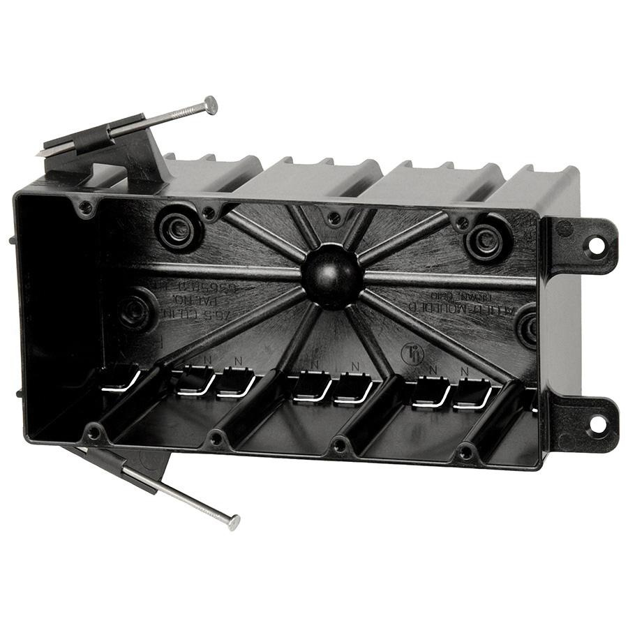 Allied Moulded Products P-764 Thermoplastic 4-Gang Residential ...