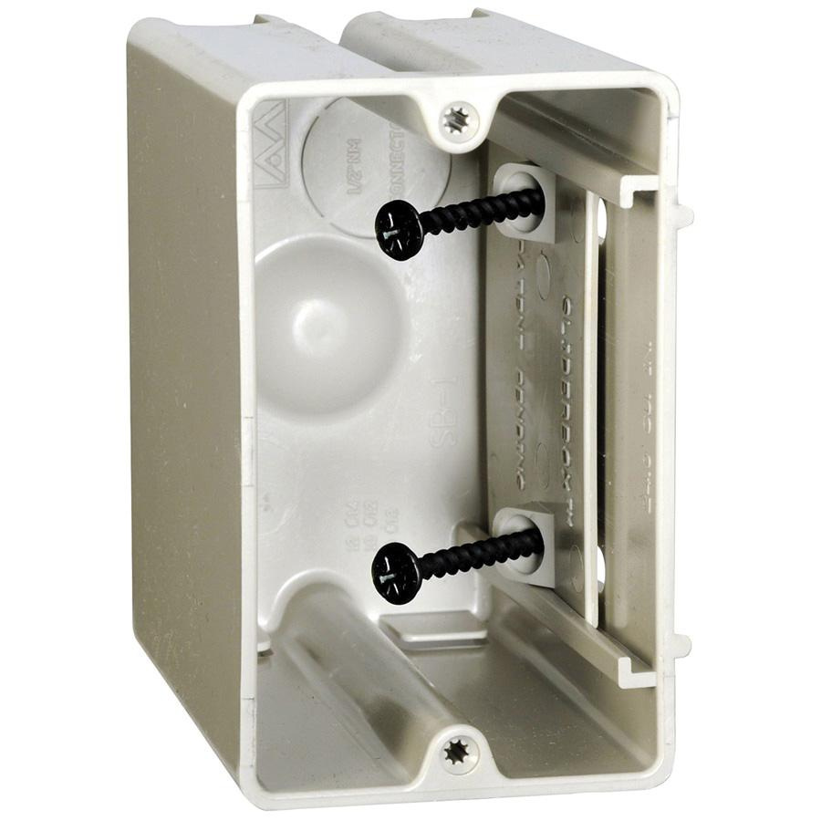 Allied Moulded Products SB-1 Thermoplastic 1-Gang Residential ...