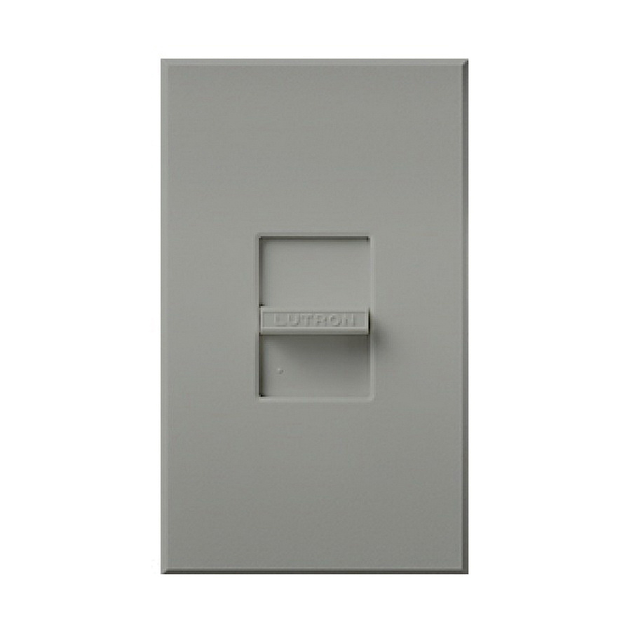 Lutron NTF-103P-GR 1-Pole 120 Volt at 60 Hz 8 Amp 3-Way 3-Wire Small ...