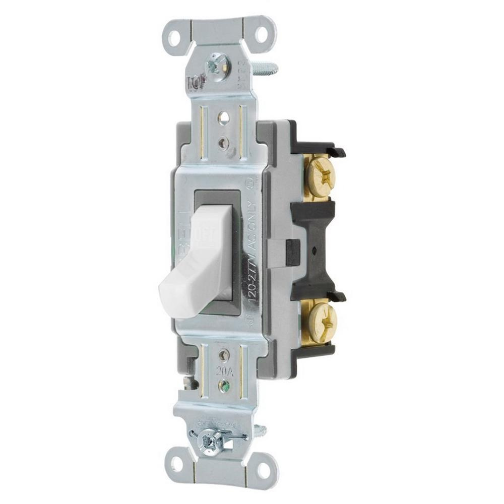 Hubbell-Wiring CSB120W 120/277-Volt AC 20-Amp 1-Pole ... on light wiring, circuit breaker, ground loop, inrush current limiter, thermostat wiring, synchronous circuit, asynchronous systems, diode bridge, relay wiring, condenser wiring, receptacle wiring, electronic component, crystal oscillator, tipping point, electric current, rectifier wiring, electric switchboard, toggle switches, alternator wiring, electrical element, timer wiring,