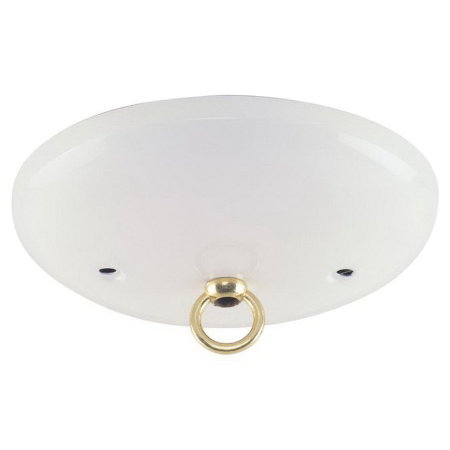 Westinghouse Lighting 7003700 White Modern Canopy Kit