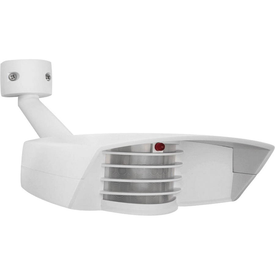 120 Volt Outdoor Led Light: Rab STL110W-LED 110-Degree Stealth Outdoor Motion Sensor