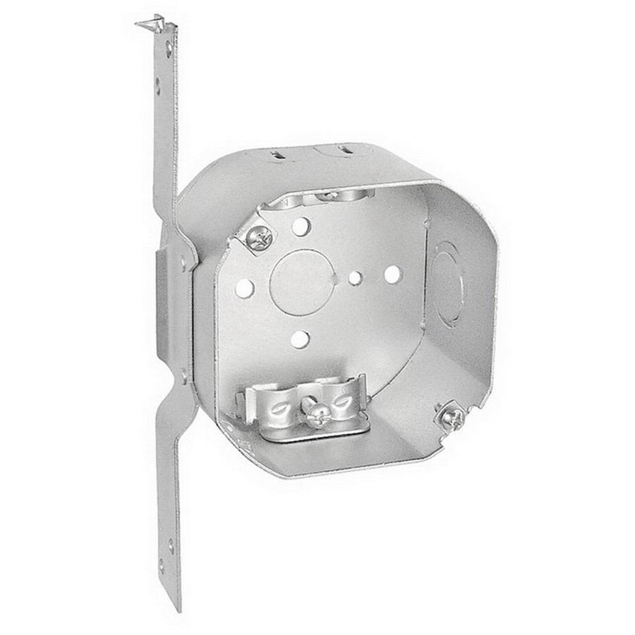 Crouse-Hinds TP320 Steel Outlet Box 4 Inch x 4 Inch x 2-1/8 Inch ...