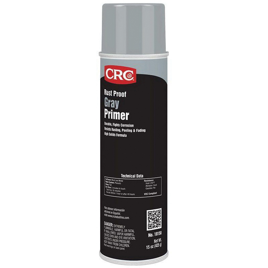 CRC Industries 18150 Enamel Rust Proof Primer 20 oz Aerosol