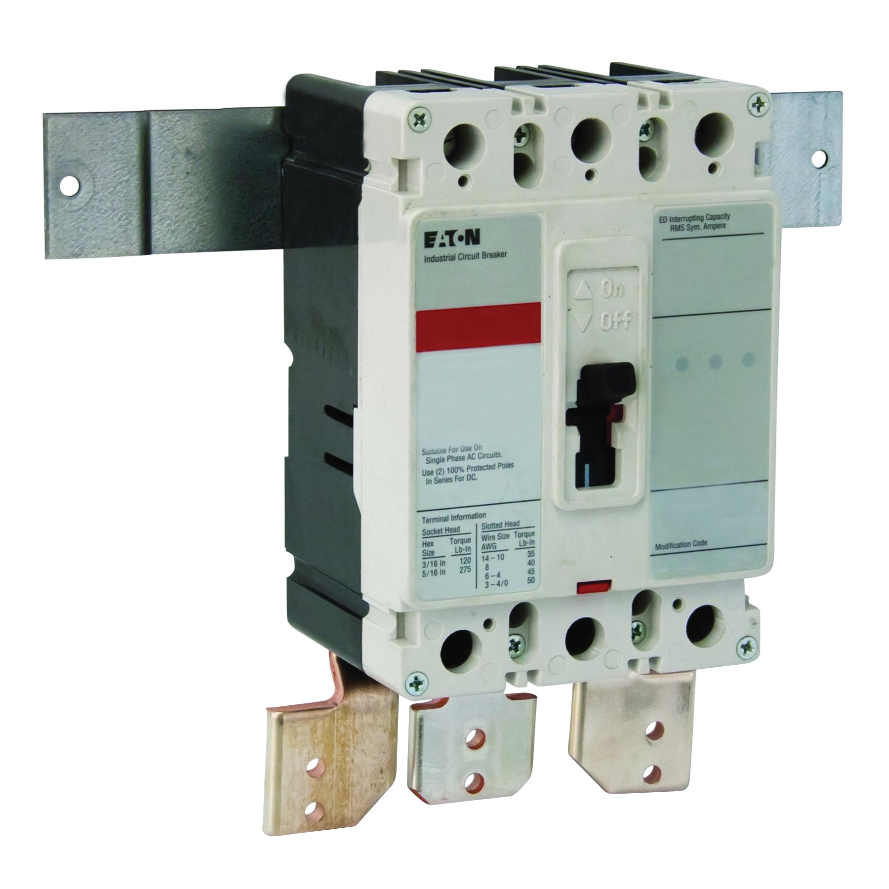 Eaton BKED150 Universal Main Circuit Breaker Kit 6 Inch x 4 Inch x 3 ...
