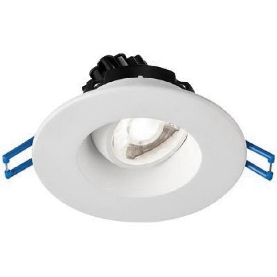 Lotus Led Lights Lrg3 30k Wh Dimmable Ic Air 3 Inch Regressed Recessed Lighting Fixture 120 Volt Ac Round 7 5 Watt 600 Lumens 3000k 94 Cri