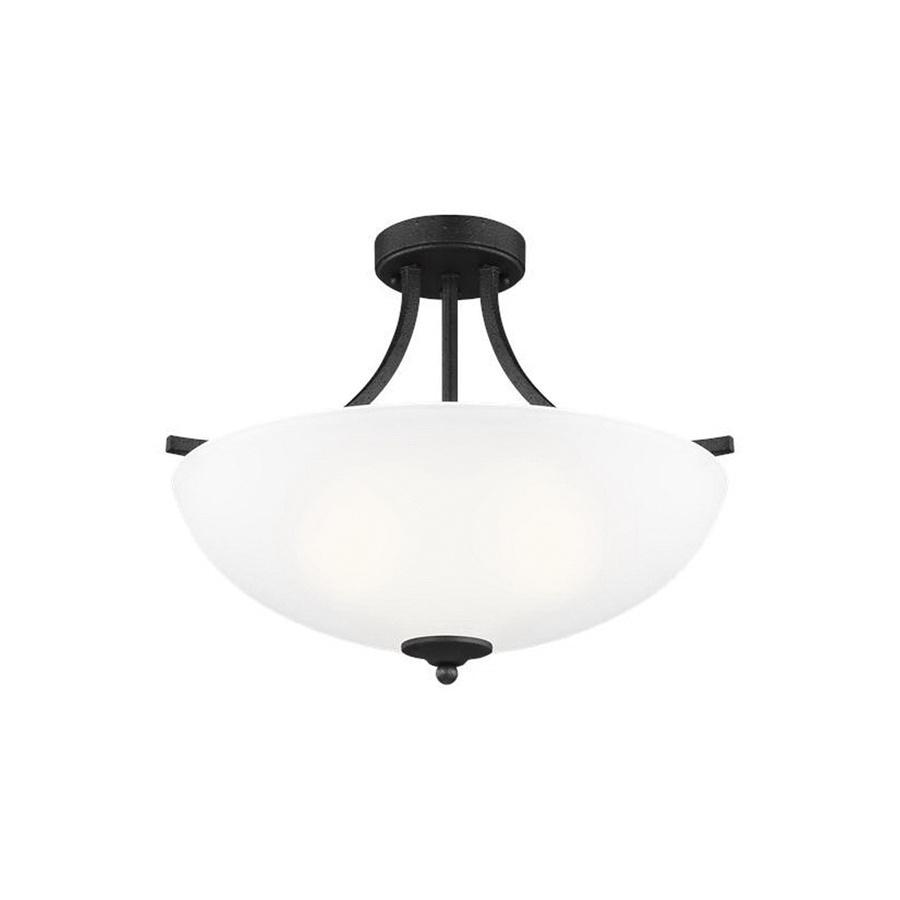 Sea Gull Lighting 7716503 839 3 Light Convertible Pendant Fixture 100 Watt 120 Volt Blacksmith Geary