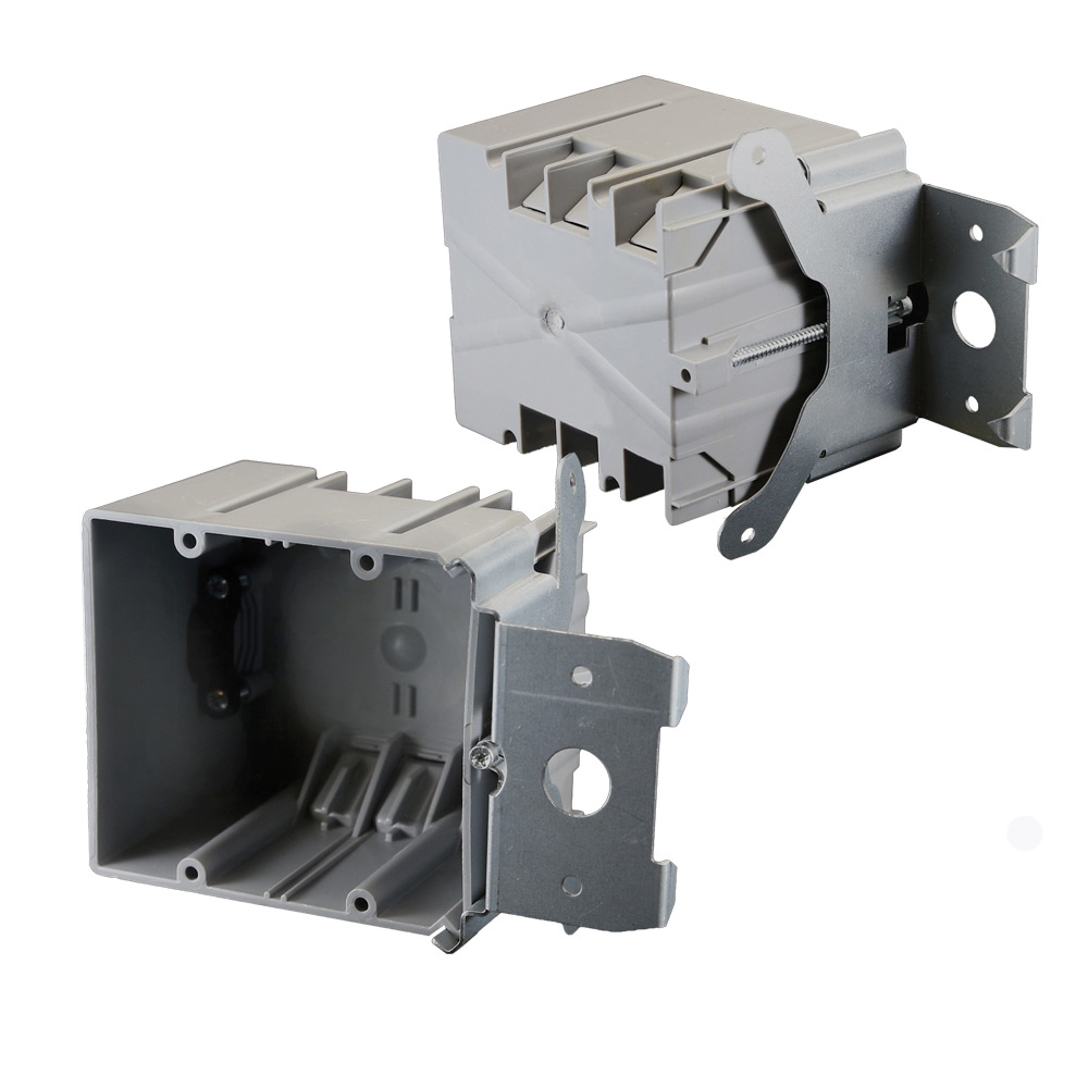 Cantex EZ34DBZ-ADJ PVC Residential Electrical Switch And Outlet Box ...