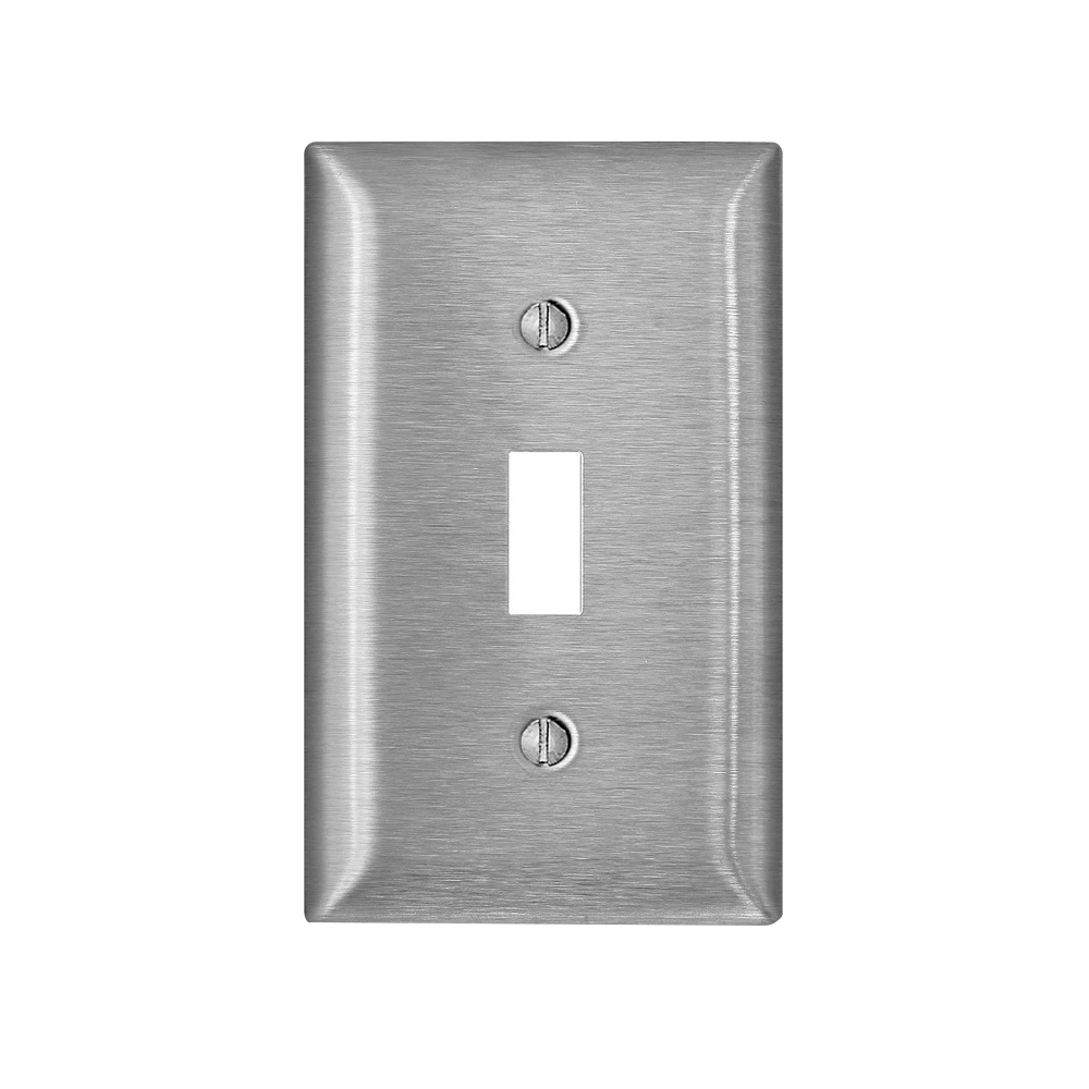 Leviton Ss1 40 302 Stainless Steel Device Mount 1 Gang Toggle Switch Wallplate Decora Wallplates Wall Switch Plates Wiring Devices