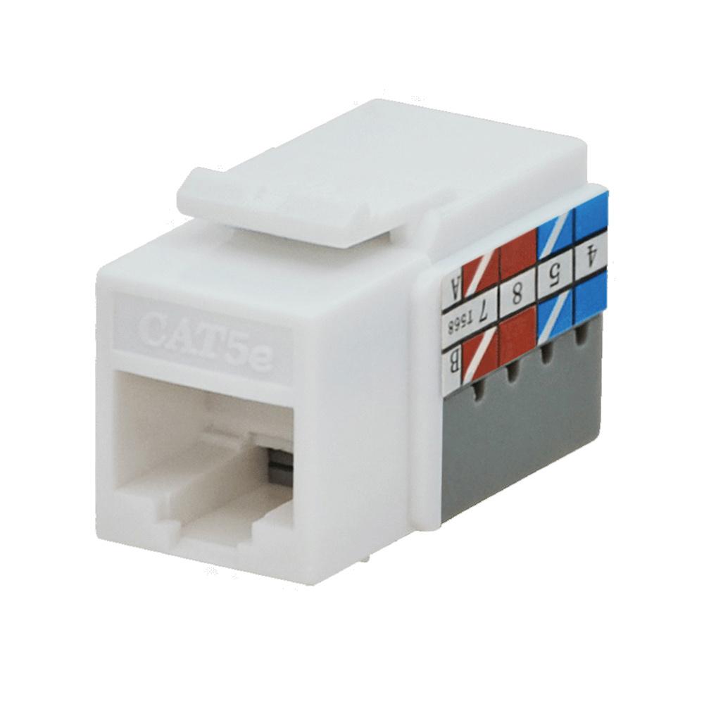 Datacomm Electronics 20 3425 Iv 10 Keystone Jack Ivory 10 Pk Audio Video Jacks Insert Modules Audio Video Datacom Yale Electric Supply