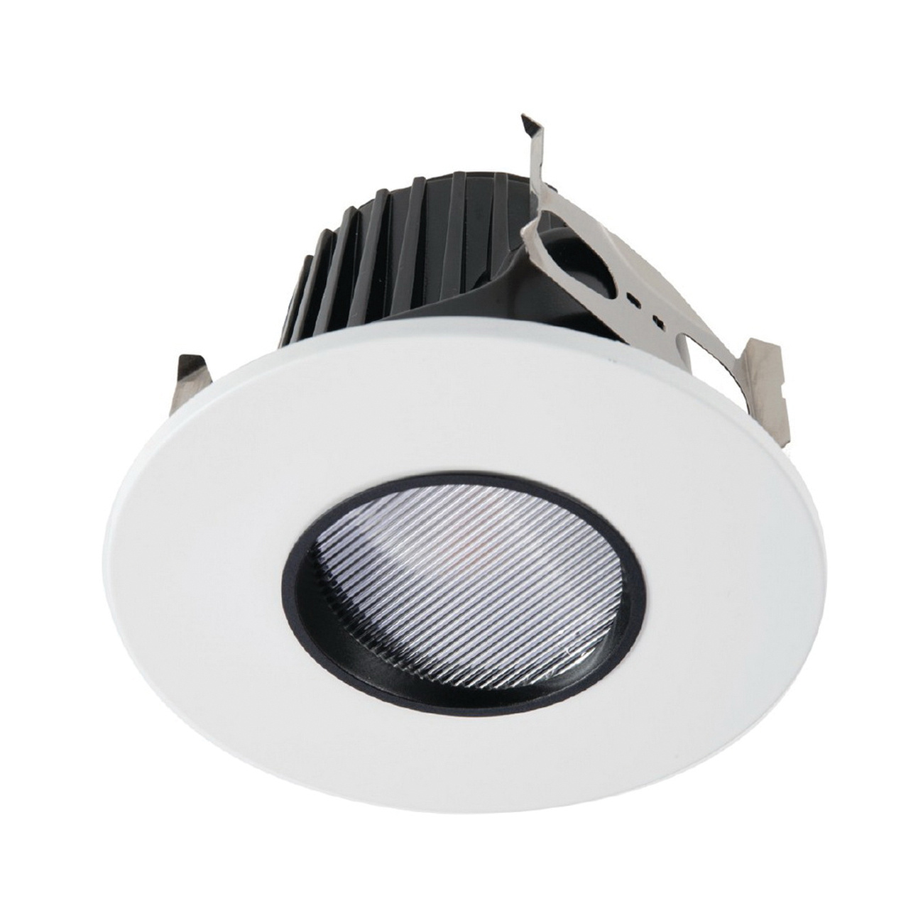 Halo Home Ml4d 09 Fl 927 E Dimmable 4 Inch Flood Distribution Led Recessed Pinhole Down Light 12 8 Watt At 120 Volt 12 5 Watt At 277 Volt Recessed Lighting Indoor Fixtures Lighting