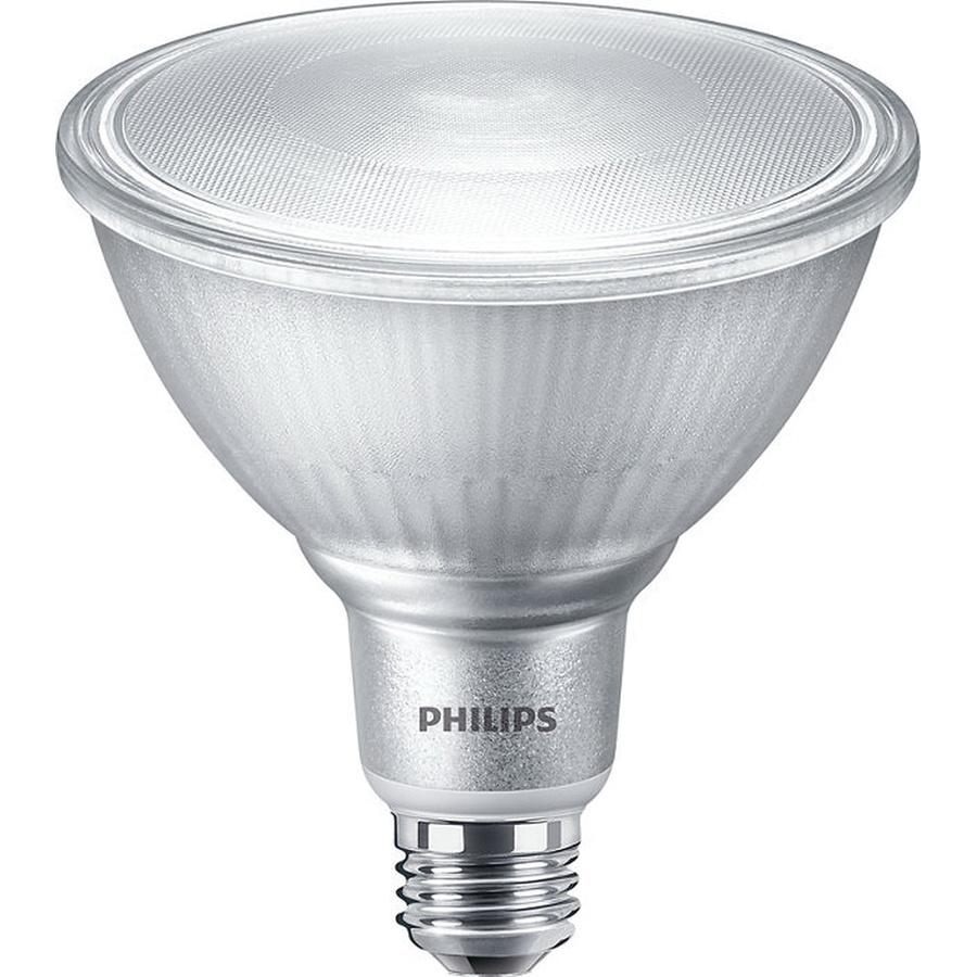Philips Lighting 529529 Dimmable Par38 Single Optic Led Lamp E26 Single Contact Medium Screw Base 14 Watt 1200 Lumens 80 Cri 3000k White Corepro