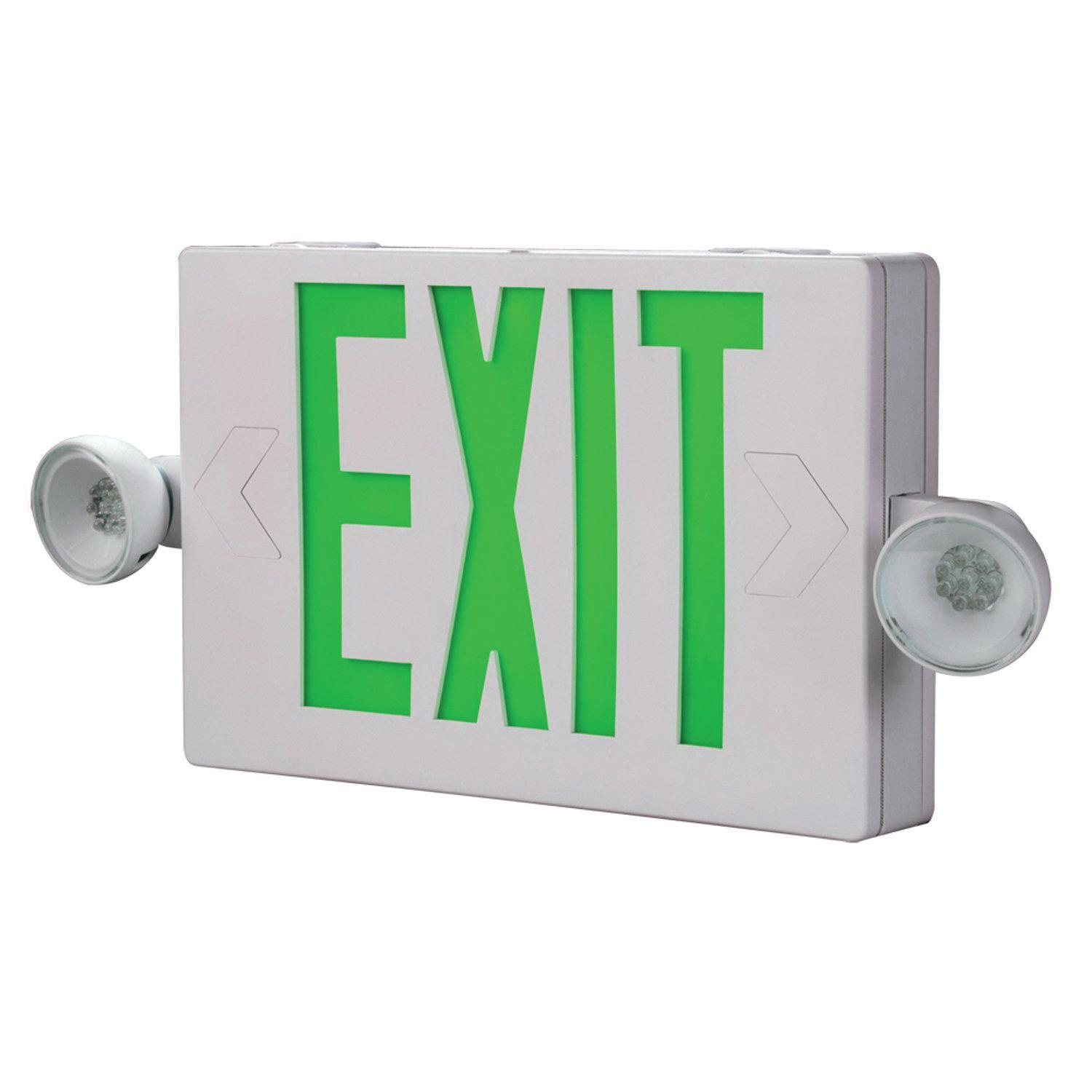 Cooper Lighting Apch7g Self Ed Combination Exit Sign
