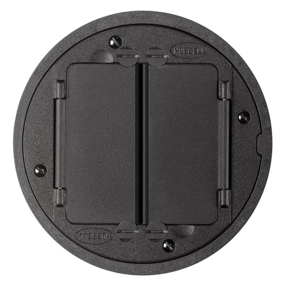 Hubbell Wiring S1tfcbl Powder Coated Cast Aluminum Tile