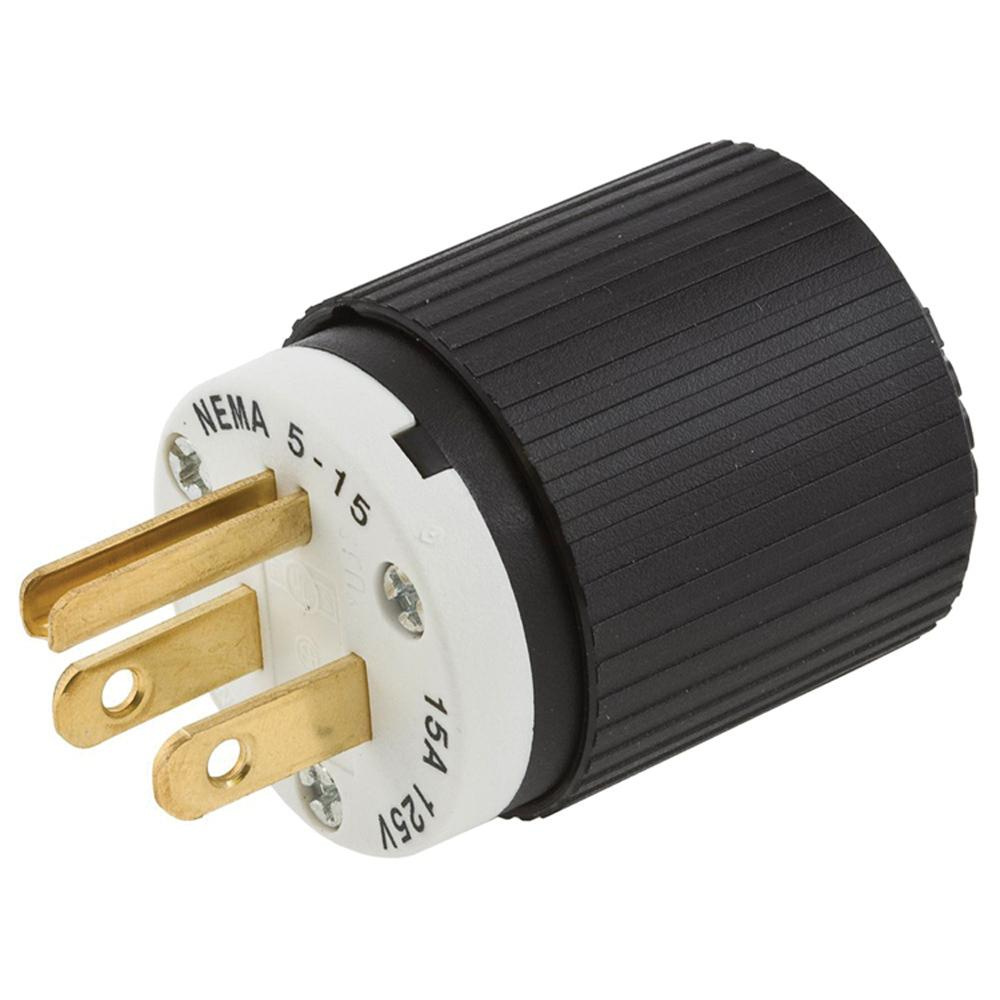 Outstanding Hubbell Wiring 515P 3 Wire 2 Pole Polarized Plug 125 Volt 15 Amp Wiring 101 Vieworaxxcnl