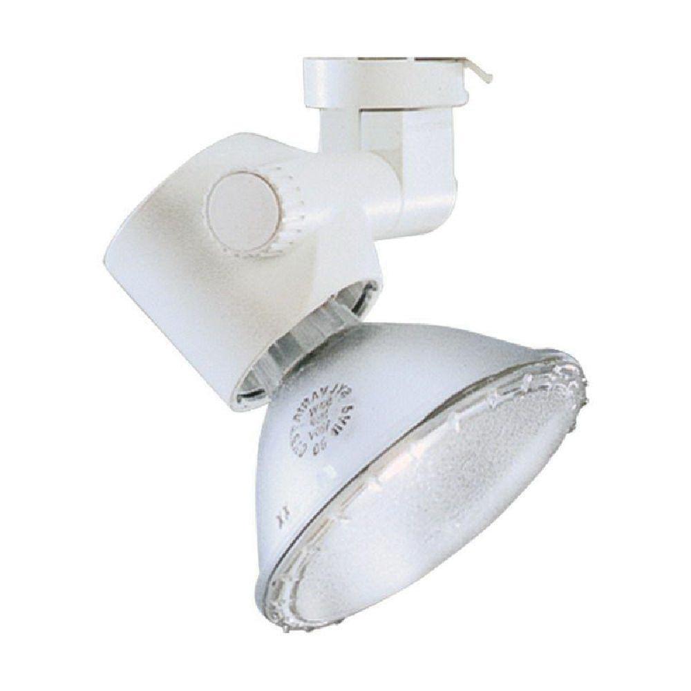 Lightolier 8201wh Low Profile Track Light Adapter Matte White Lytespan Par Tech
