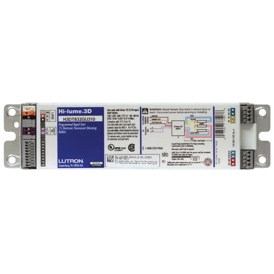 Lutron Ballast Dimming Wiring Diagram Ehdt832mu210 U Watt Linear And Bent Lamp High 900x900