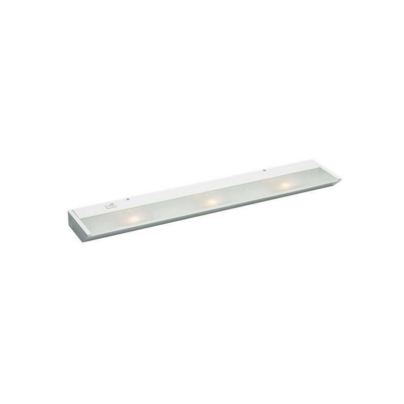 Kichler 12013WH 3-Light Task Work Direct Wire Undercabinet Light Fixture 20 Watt 120 Volt 2700K White