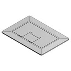 Thomas & Betts E9761SS Stainless Steel 1-Gang Floor Box Cover 7.13 Inch x 5 Inch Carlon®