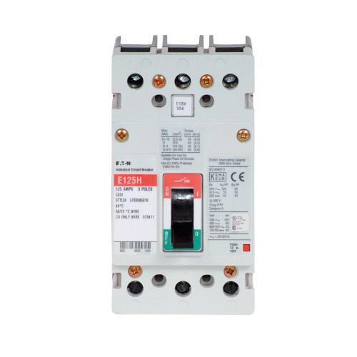 Eaton EGH3030FFG Molded Case Circuit Breaker 3-Pole 30-Amp