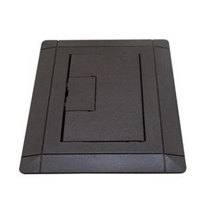 Thomas & Betts E9761B Thermoplastic 1-Gang Non-Metallic Open Floor Box Cover With Carpet Flange 7.13 Inch x 5 Inch Carlon®