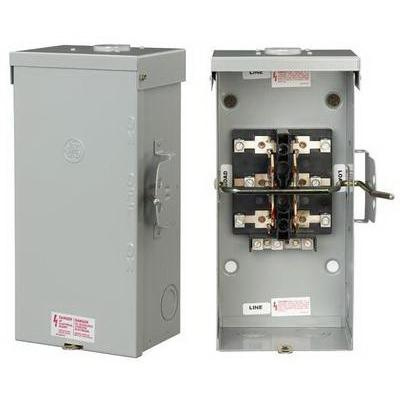 GE Industrial TC10323R 3-Wire 2-Pole Non-Fusible Emergency Power Transfer on