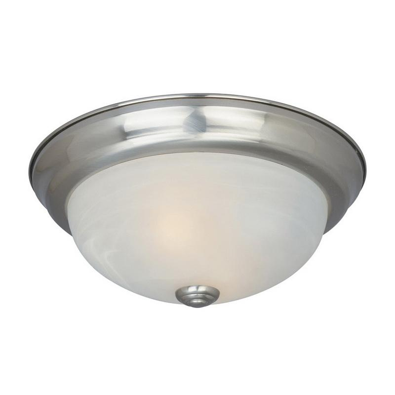 Designers Fountain 1257L-SP-AL 3-Light Large Ceiling