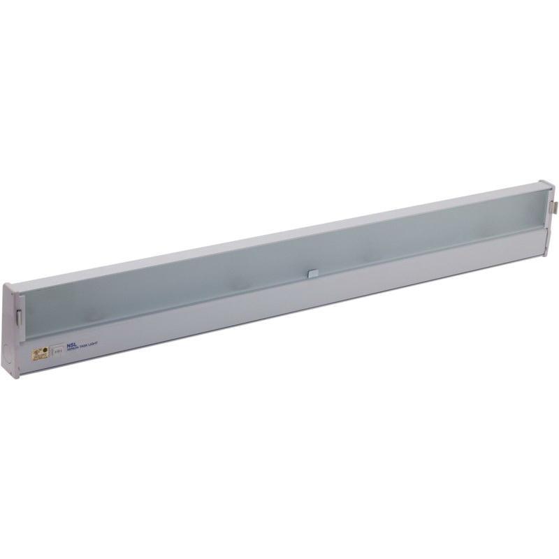 NSL LTS-5-HW/WH 5-Light Hardwire LED Task Light 5.2 Watt 120 ... on