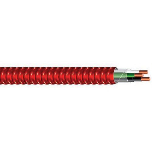 Southwire 55454903 Solid Copper TFN MC/FPLP Plenum Rated Fire Alarm ...