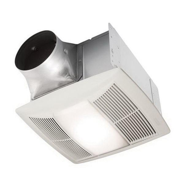 Nutone QTXEN150FLT Ventilation Fan With Light 150 CFM at 0 ...