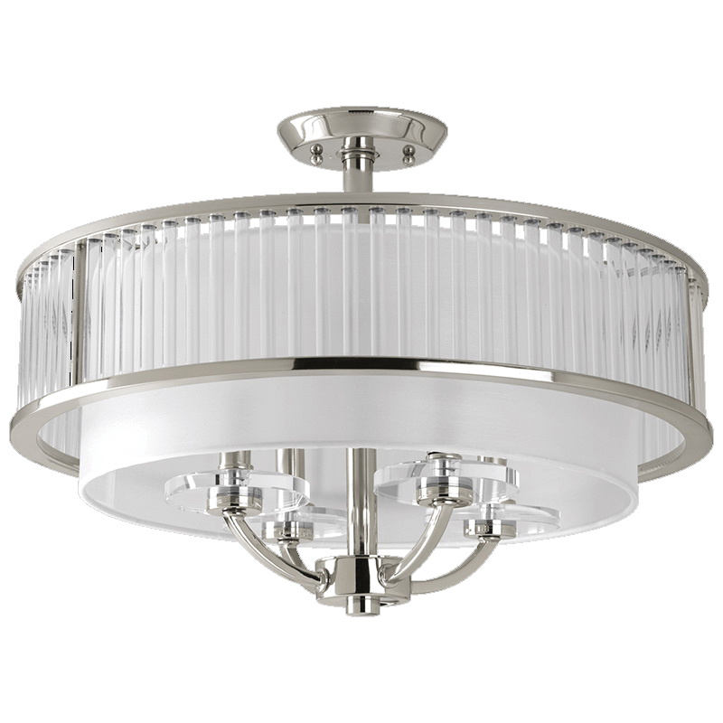 Close To Ceiling Foyer Lights : Progress lighting p  light ceiling chain close to