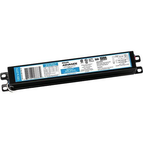 Philips Advance IOPA4P32N35M (4) 32 Watt F32T8 Lamp Electronic Fluorescent Ballast 120 - 277 Volt Optanium