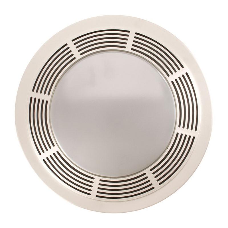 Nutone Round Bathroom Fan Light: Nutone 751 Classic Bathroom Fan With Light 120-Volt AC 100