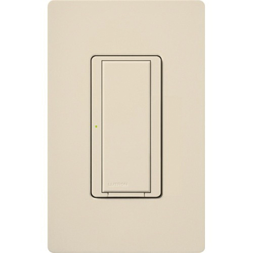 lutron rrd-8ans-la 120-volt multi-location neutral wire electronic switch  light almond radiora®2 maestro® - dimmers - switches - wiring devices -  wiring