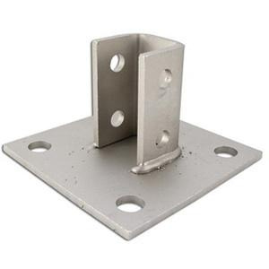 Power Strut PS-3033-SS304 304 Stainless Steel U Post Base