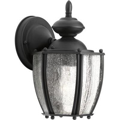 Progress Lighting P5762-31 1-Light Wall Lantern 100 Watt 120 Volt Black Roman Coach