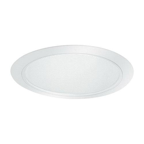 lightolier 1105wh 6 3 4 inch down light step reflector baffle trim